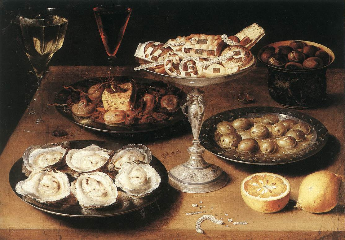 Osias_Beert_(I)_-_Still-Life_with_Oysters_and_Pastries_-_WGA01569