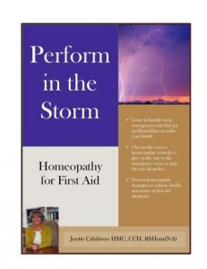 Homeopathy First Aid