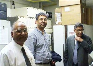 Banerji`s with Dr. Sen Pathak & Dr. Subrata Sen at UT MDACC