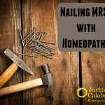 Nailing MRSA with Homeopathy