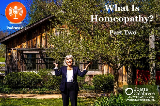 Joette Calabrese, What is homeopathy