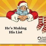 He's Making His List