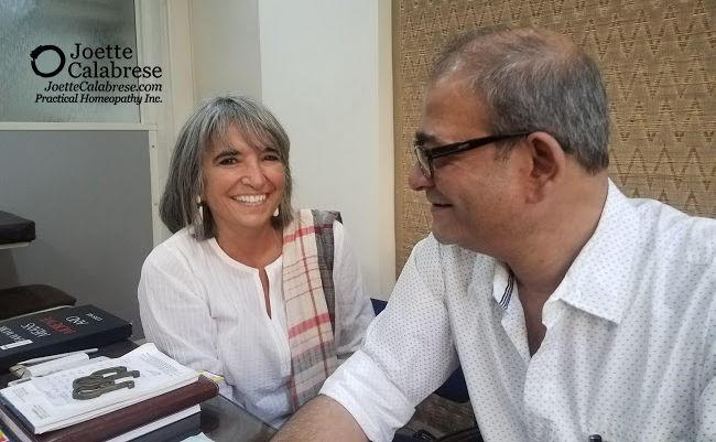 Joette and Dr. Pratip Banerji