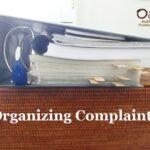 Organizing Complaints
